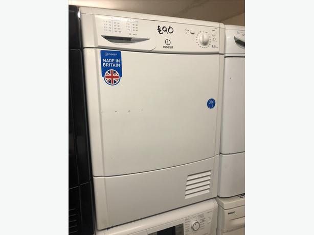8KG B RATED INDESIT CONDENSER TUMBLE DRYER WITH GUARANTEE 🇬🇧🇬🇧