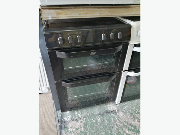 Belling electric cooker 60 cm with warranty at Recyk Appliances