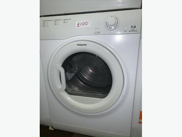 PLANET APPLIANCE - 7KG HOTPOINT VENTED DRYER