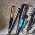 various hair straighteners £8 each.