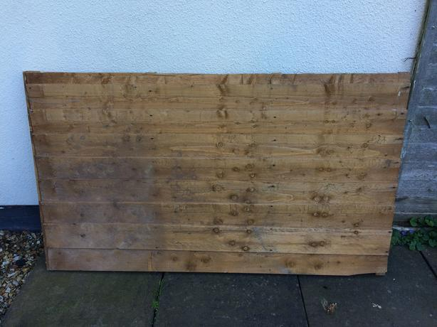 "fence panel 150cm x 87cm or 59"" x 34"""