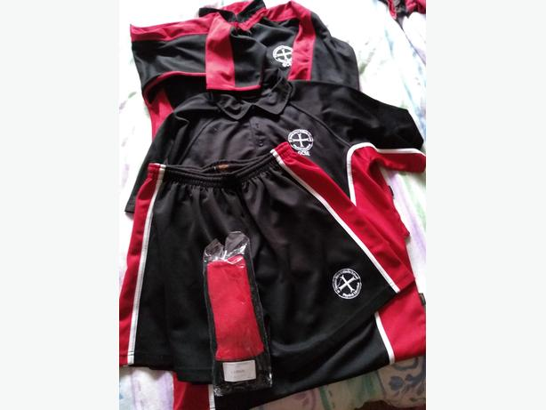 School Uniform St Thomas More Boy's GCSE PE kit - excellent condition, socks new