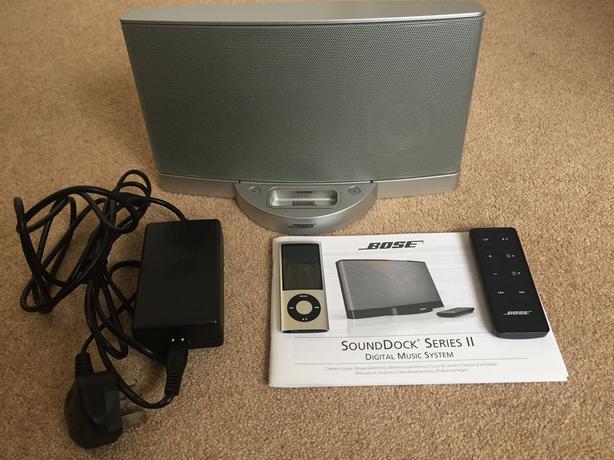 Bose SoundDock Series ll Docking Station - Silver