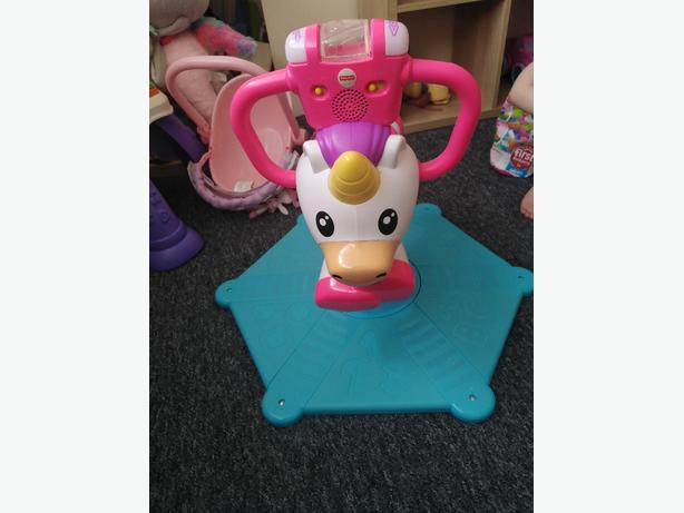 Spin & Bounce Unicorn