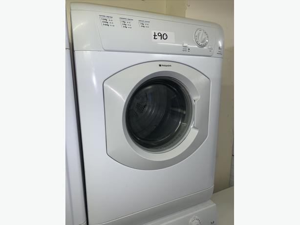 PLANET APPLIANCE - 6KG LOAD WHITE HOTPOINT VENTED DRYER