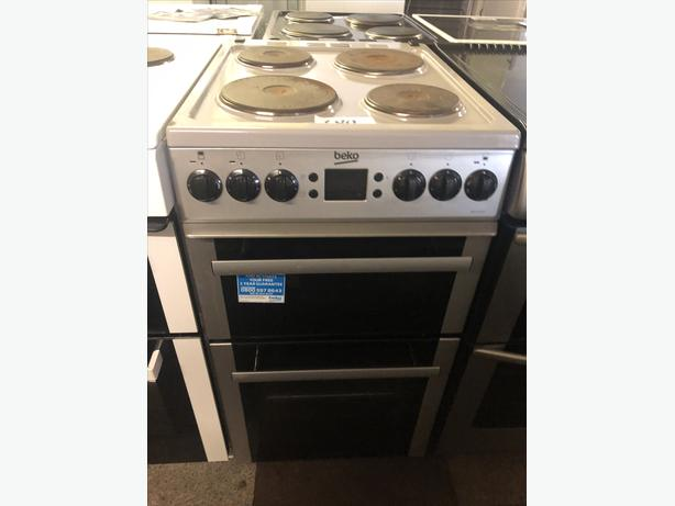 PLANET 🌍 APPLIANCE- BEKO ELECTRIC 50CM ELECTRIC COOKER WITH GENUINE GUARANTEE