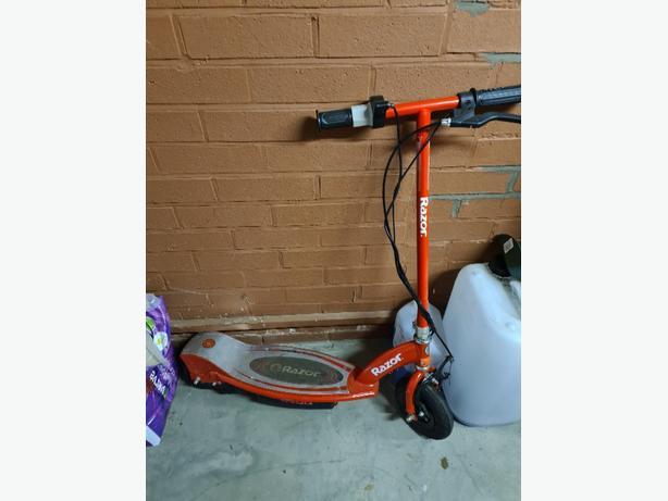 kids razor electric scooter