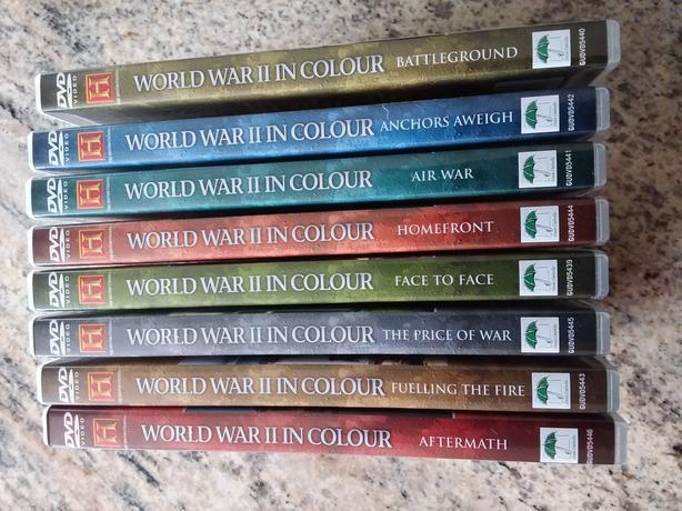 DVD set. World War 2