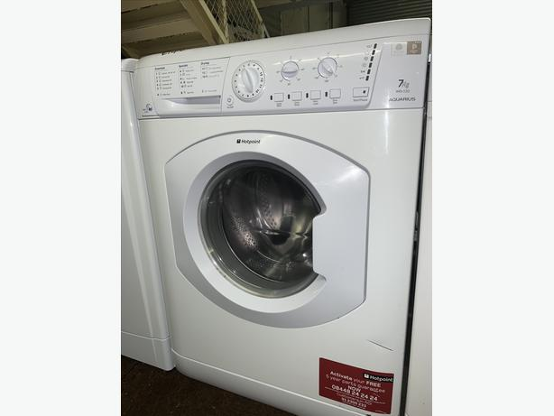 PLANET APPLIANCE -7KG HOTPOINT WASHER WASHING MACHINE AND DRYER WITH WARRANTY