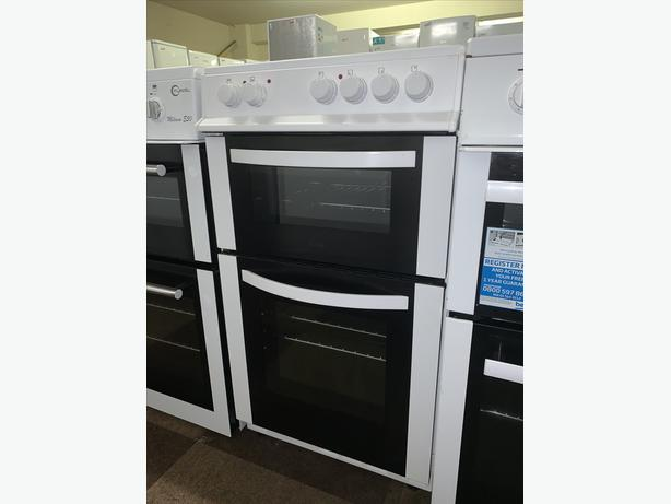 PLANET APPLIANCE- 50CM WHITE LOGIK ELECTRIC COOKER WITH WARRANTY