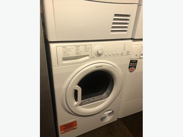 PLANET 🌍 APPLIANCE- 9KG B RATED HOTPOINT CONDENSER TUMBLE DRYER WITH GUARANTEE