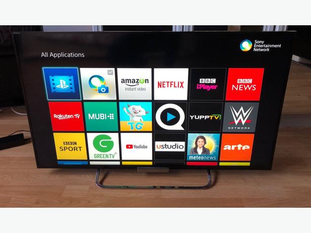 "smart sony bravia 42"" full hd 1080p led tv+built in apps+wifi+remote+DELIVERY"
