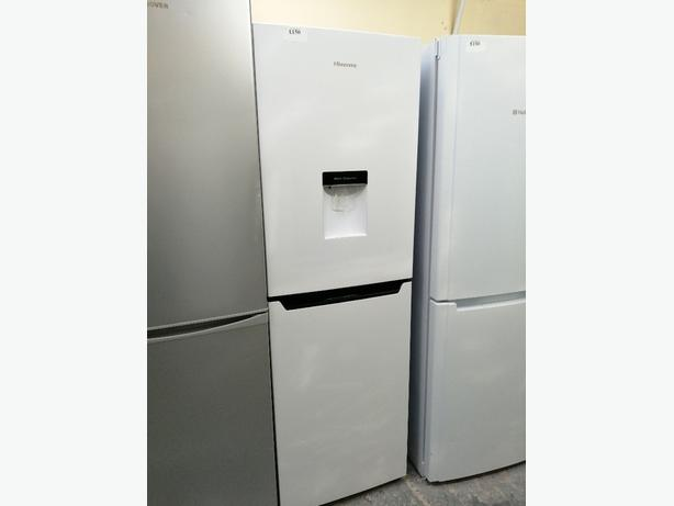 Hisense fridge freezer with water💦 dispenser 3 months warranty 🇬🇧