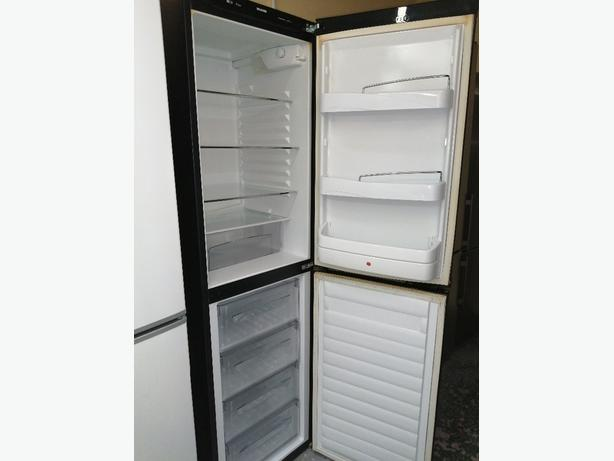 Hoover tall fridge freezer with warranty at Recyk