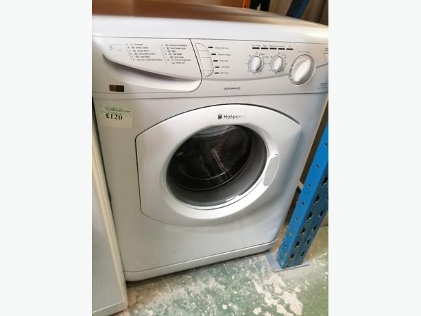 Hotpoint washer dryer 5+5 kg with warranty at Recyk