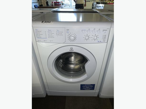 PLANET APPLIANCE - 6KG INDESIT WASHER WASHING MACHINE WITH WARRANTY INCLUDED