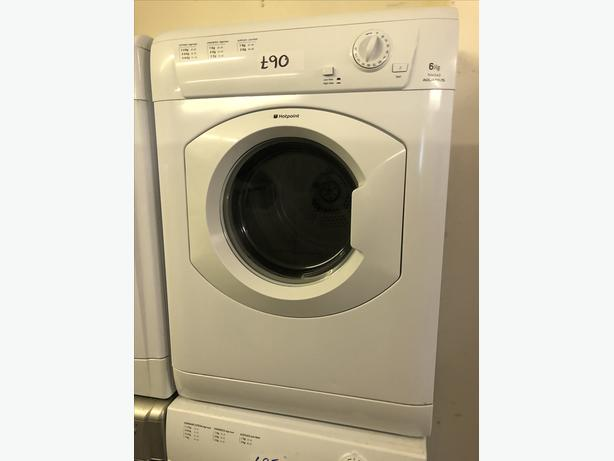 PLANET 🌍 APPLIANCE- 6KG HOTPOINT VENTED DRYER WITH GUARANTEE