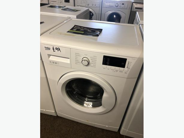 PLANET 🌎 APPLIANCE- 7KG LCD BEKO WASHER/WASHING MACHINE 🇬🇧🇬🇧