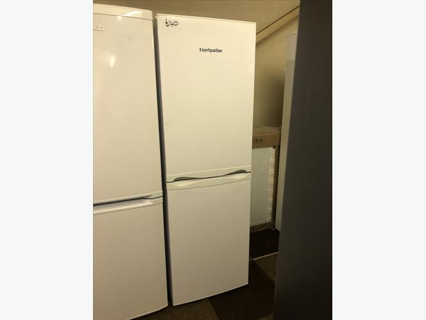 NOW ONLY £140 - MONTPELIER FRIDGE FREEZER WITH GUARANTEE