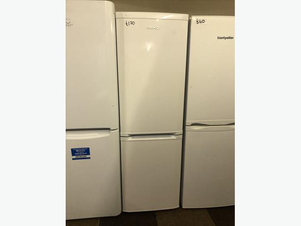 PLANET 🌎 APPLIANCE- TALL BEKO WHITE FRIDGE FREEZER WITH GUARANTEE