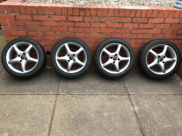 TSW STEALTH alloy wheels