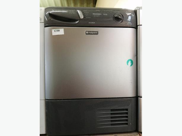 Hotpoint 7kg condenser dryer with warranty at Recyk