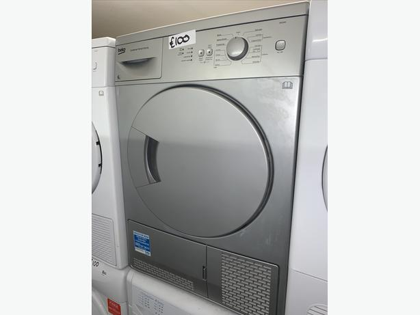 PLANET APPLIANCE - 6KG BEKO CONDENSER DRYER COMES WITH WARRANTY INCL