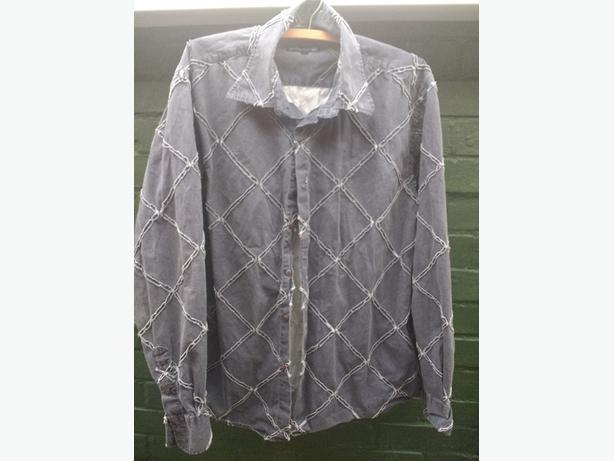 men's large lambretta long sleeve shirt