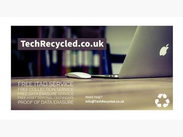 TECH RECYCLED - YOUR REDUNDANT I.T IN SAFE HANDS.