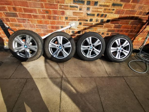 Bmw 1 series 16 inch alloy wheels