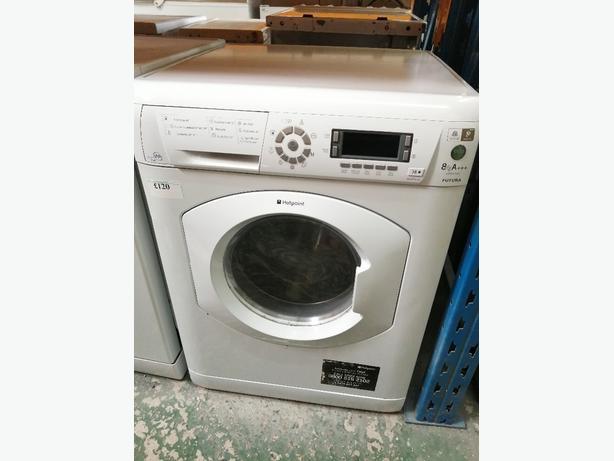Hotpoint washing machine 8kg with warranty at Recyk