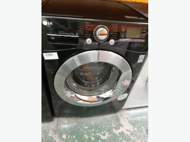 LG washing machine 11 kg with warranty at Recyk Appliances