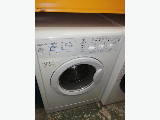 Indesit washer dryer 7+4 kg with warranty at Recyk Appliances