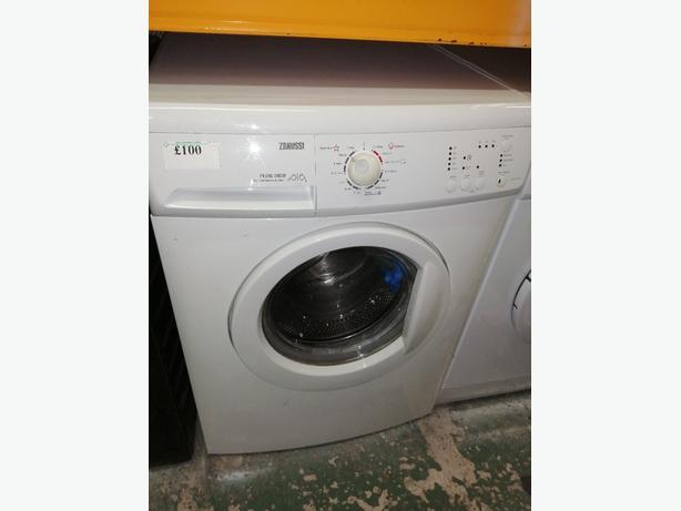 Zanussi 7kg washing machine with warranty at Recyk Appliances