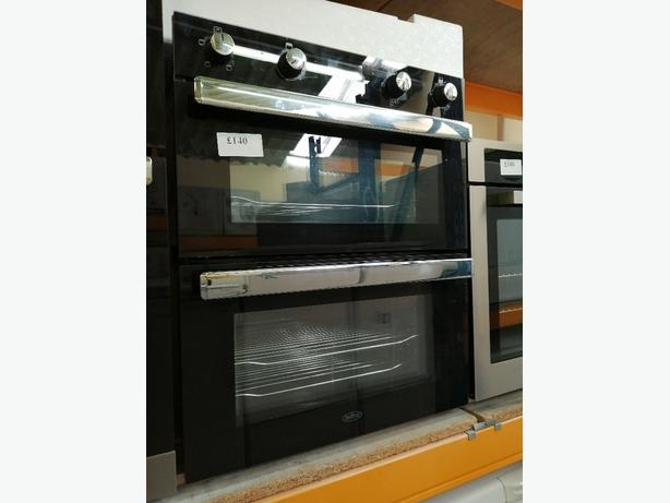 Belling double electric oven 60 cm as new with warranty