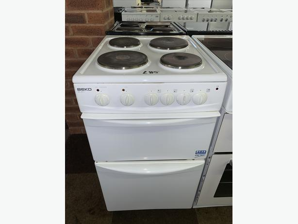 PLANET APPLIANCE - 50CM BEKO ELECTRIC COOKER WITH WARRANTY