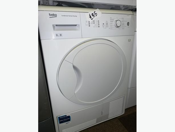 PLANET APPLIANCE - 8KG BEKO DRYER WITH GUARANTEE