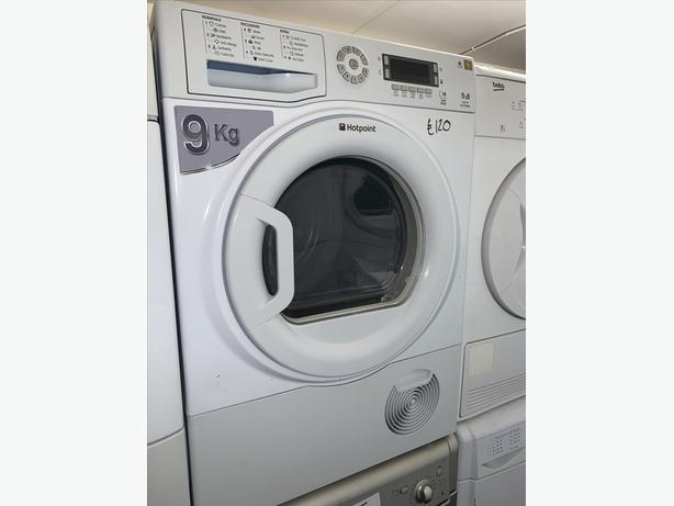 PLANET APPLIANCE - 9KG HOTPOINT DRYER W/ GUARANTEE