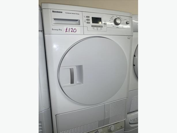 PLANET APPLIANCE - 8KG BLOMBERG DRYER WITH GUARANTEE