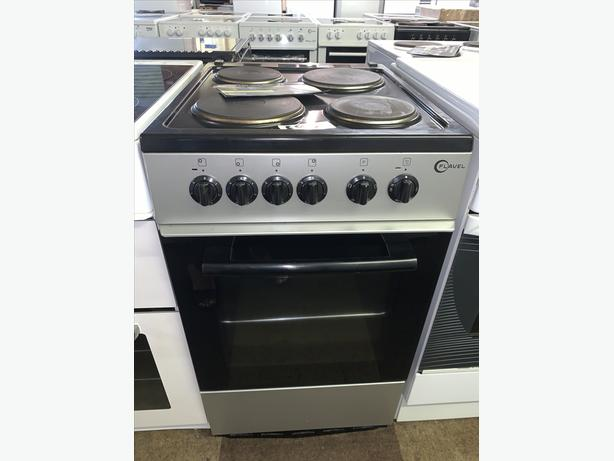 PLANET APPLIANCE - 50CM SILVER FLAVEL ELECTRIC COOKER