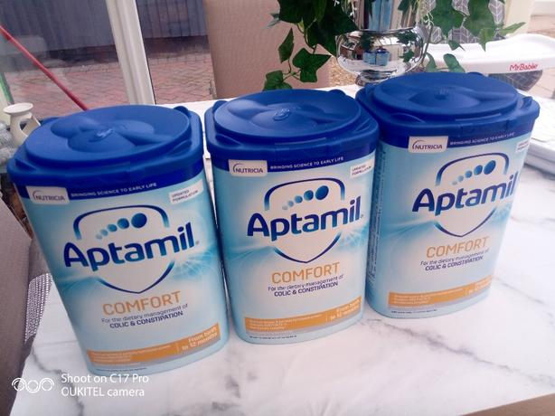 Aptamil x 3 Comfort and Constipation 800g