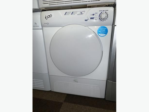 PLANET APPLIANCE - 9KG LOAD CANDY CONDENSER DRYER WITH WARRANTY INCLUDED