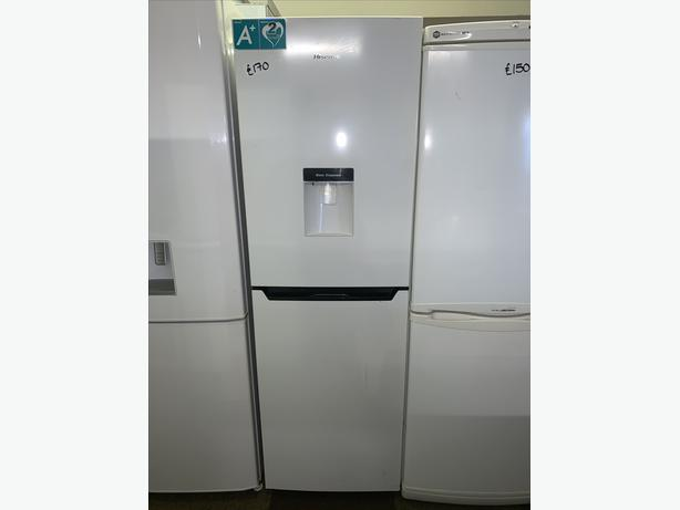 PLANET APPLIANCE - HISENSE FRIDGE FREEZER AVAILABLE WITH WARRANTY