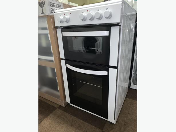 PLANET APPLIANCE - 50CM WHITE ELECTRIC COOKER AVAILABLE WITH GUARANTEE