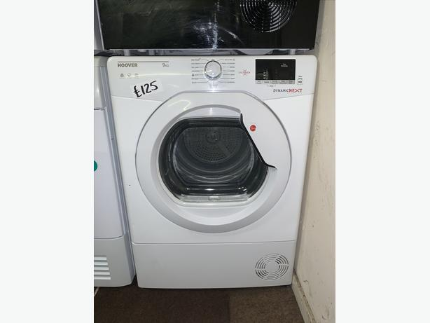 PLANET APPLIANCE - HOOVER DRYER 9KG LOAD WITH WARRANTY