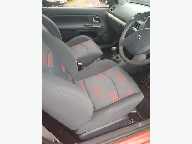 RENAULT CLIO 1.2 16V EXTREME 2004 55,000 MILES
