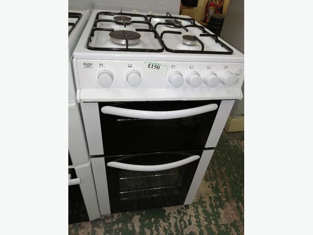 Bush 50 cm gas cooker with warranty at Recyk Appliances