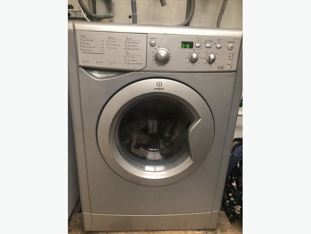 PLANET 🌍 APPLIANCE- INDESIT WASHER DRYER 7KG WITH GUARANTEE 🇬🇧🇬🇧
