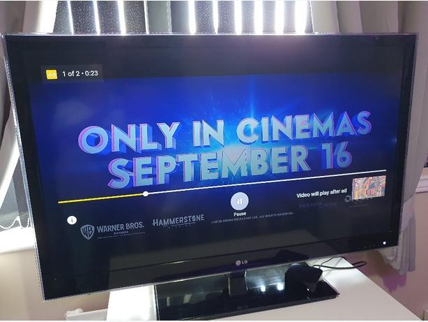LG  47 inch smart 3D tv