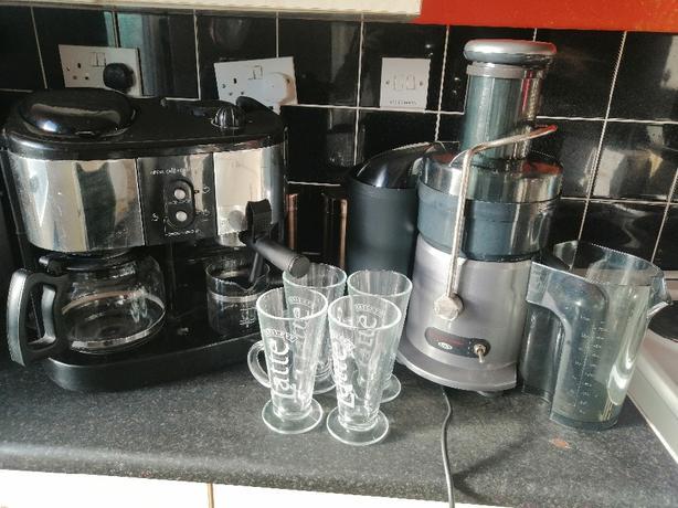 Filter coffee / Expresso maker & professional juicer - £45 -